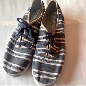 Keds striped sneakers for ladies size 9.5 M